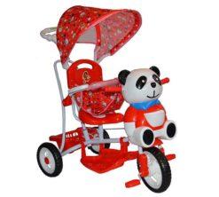 Djecji tricikl Panda - crveni (1)