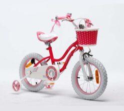 Dječji bicikl Lara crveni 16 (2)