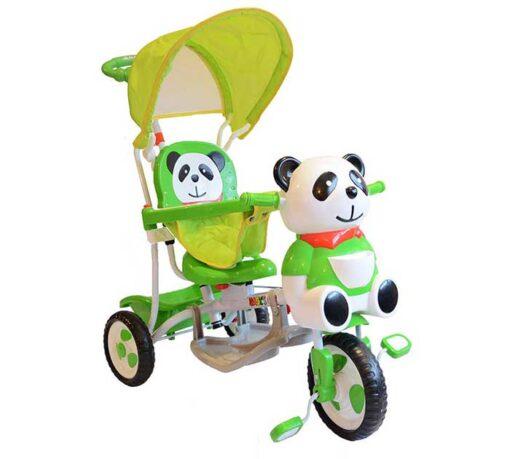 Djecji tricikl Panda - zelena