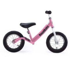 Djecji bicikl bez pedala rozi