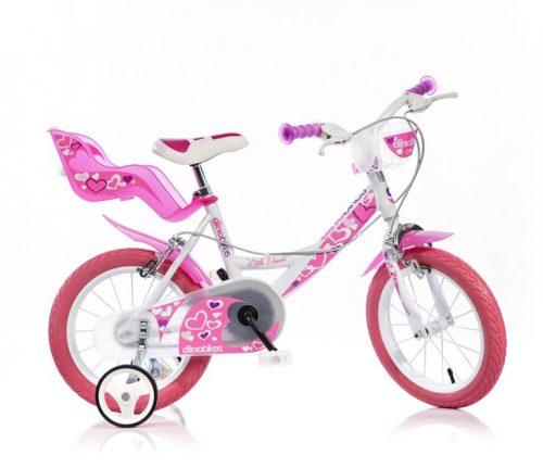 djecji bicikl little heart 14 rozi