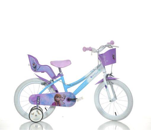 """Djecji bicikl Frozen 16"""" plavi"""