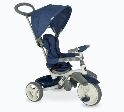 Djecji tricikl Evo plavi