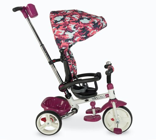 Djecji tricikl Urbio Armi rozi (2)