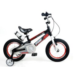 """Dječji bicikl Space aluminij 12"""" crni"""