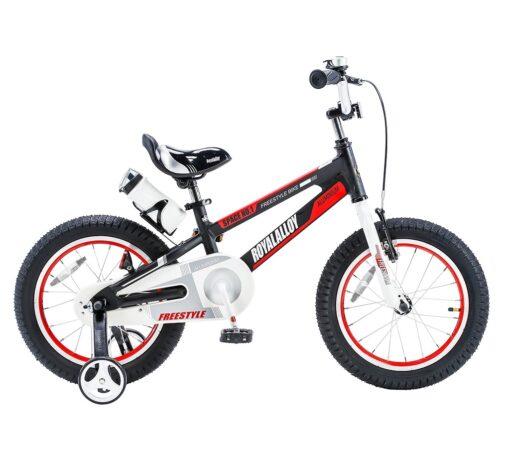 """Dječji bicikl Space aluminij 16"""" - crni"""