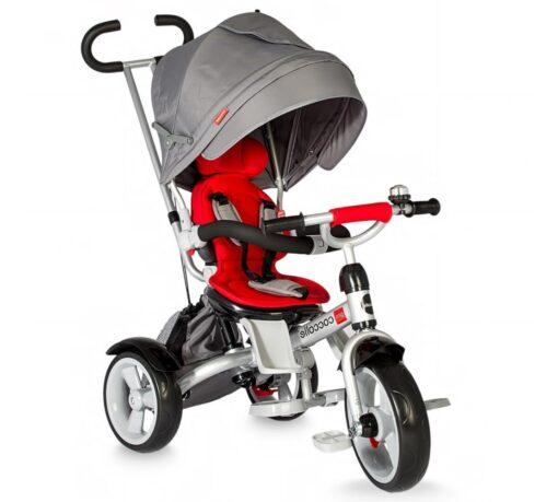 Dječji tricikl Giro sivo - crveni