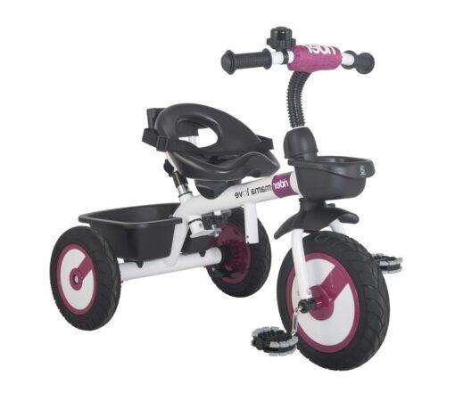 Dječji tricikl Rider ljubičasti