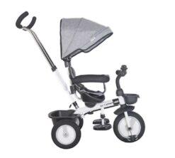 Dječji tricikl Rider sivi