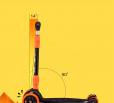 Djecji-romobil-Archer-crno-narancasti (3)