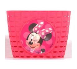 Prednja košarica Minnie roza