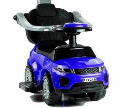 Dječja guralica Automobil s drškom plava