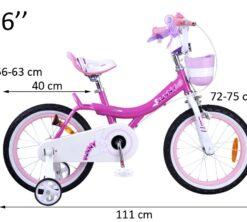 Djecji bicikl Bunny 16 rozi 1
