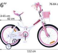 Djecji bicikl Jenny 16 rozi 1