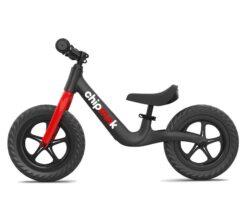 Djecji bicikl bez pedala ChipMunk crni aluminij magnezij