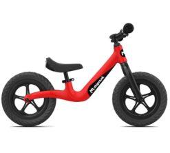 Djecji bicikl bez pedala ChipMunk crveni aluminij magnezij