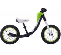 Djecji bicikl bez pedala Pony crni aluminij (1)
