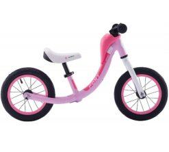 Djecji bicikl bez pedala Pony rozi aluminij