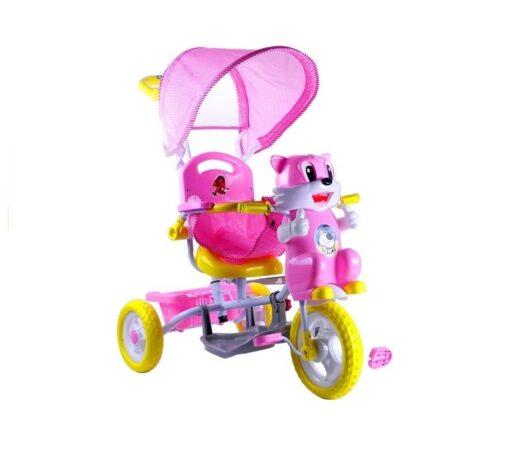 Djecji tricikl Macka roza