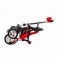 Djecji tricikl Urbio crveni gume na pumpanje 3