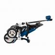 Djecji tricikl Urbio plavi gume na pumpanje 3