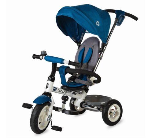 Djecji tricikl Urbio plavi gume na pumpanje