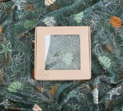 Prekrivač od bambusa Školjkice