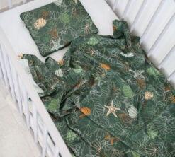 Set od bambusa Školjkice i zelena