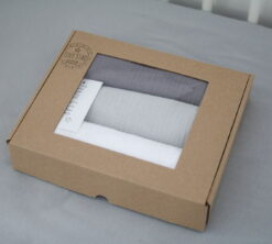 Organske muslin pelene 3pack Grey