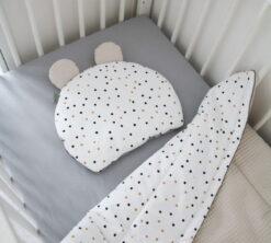 Pamučni jastuk Confetti i bež