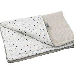 Pamučna deka Cotton-waffel 75x100 Confetti i bež