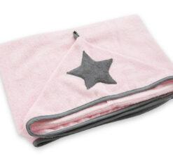 Bambus ručnik rozi