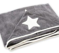 Bambus ručnik sivi